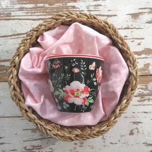 Latte Cup Meadow Black