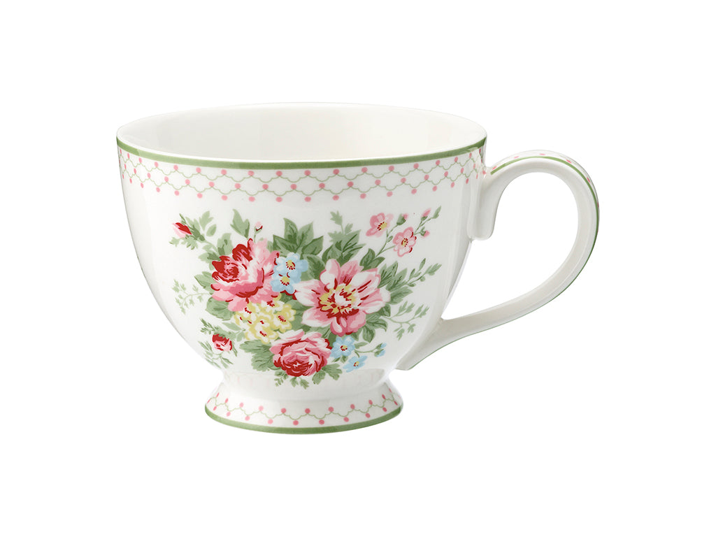 TeaCup Aurelia White