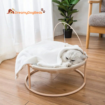 Stylish Small Dogs & Cats Calming Bed