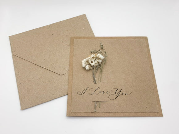 Dried Flowers PH : Greeting Cards