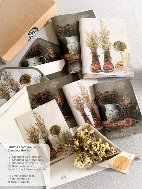 Dried Flowers PH : Love & Light Box Sets