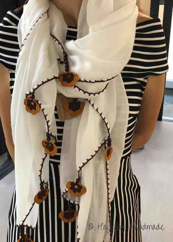 50% OFF!!! Linen Scarf