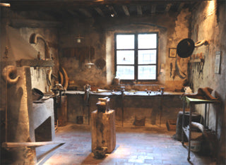 The knife's maker workshop - The Knives Museum in Scarperia - Photocredits: M. Fiorenzani