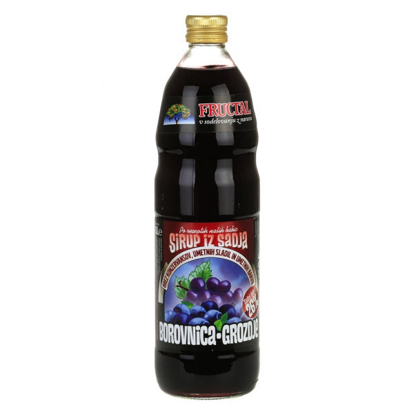 Fructal Syrup | Blueberry & Grapes | 1L