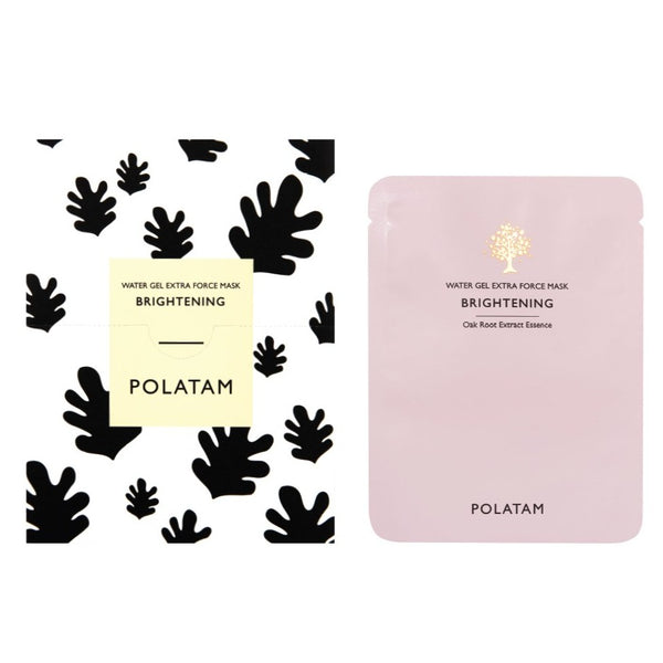 POLATAM Water Gel Extra Force Brightening Mask (6 Sheets)