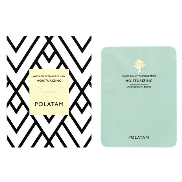 POLATAM Water Gel Extra Force Moisturizing Mask (6 Sheets)