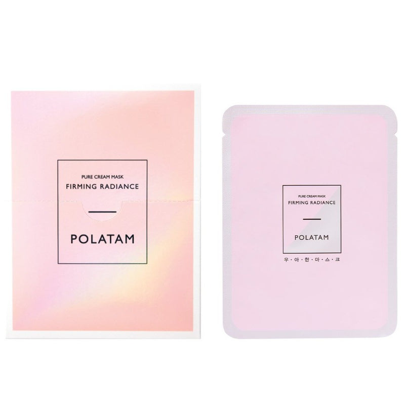 POLATAM PURE CREAM FIRMING RADIANCE MASK(6 Sheets)