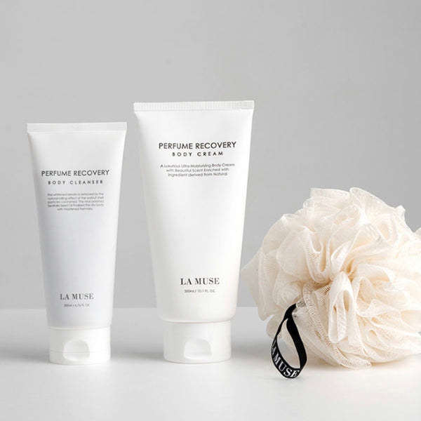 LA MUSE Perfume Recovery Body Cleanser+Body Cream SET