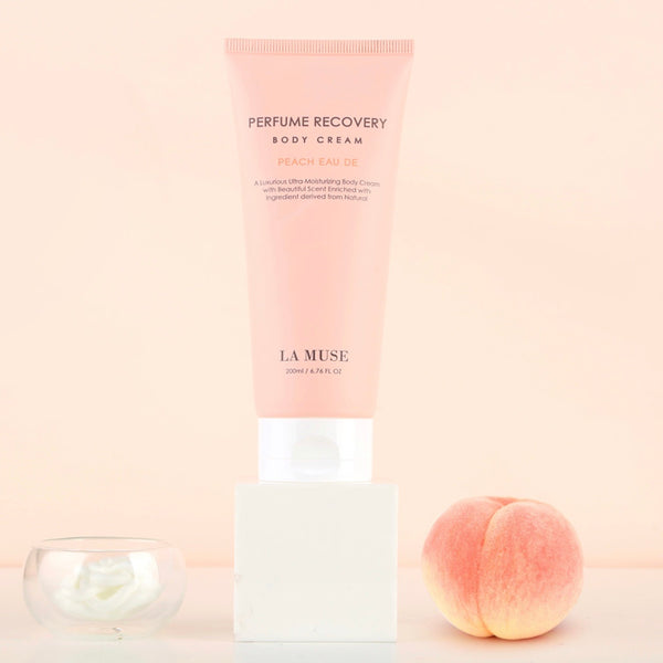 LA MUSE- Perfume Recovery Body Cream- Peach Eau De
