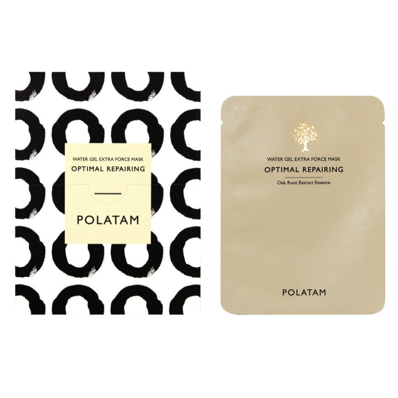 POLATAM Water Gel Extra Force Optimal Repairing Mask (6 Sheets)