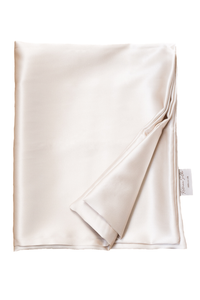 Natural silk pillowcase Cappuccino Beige