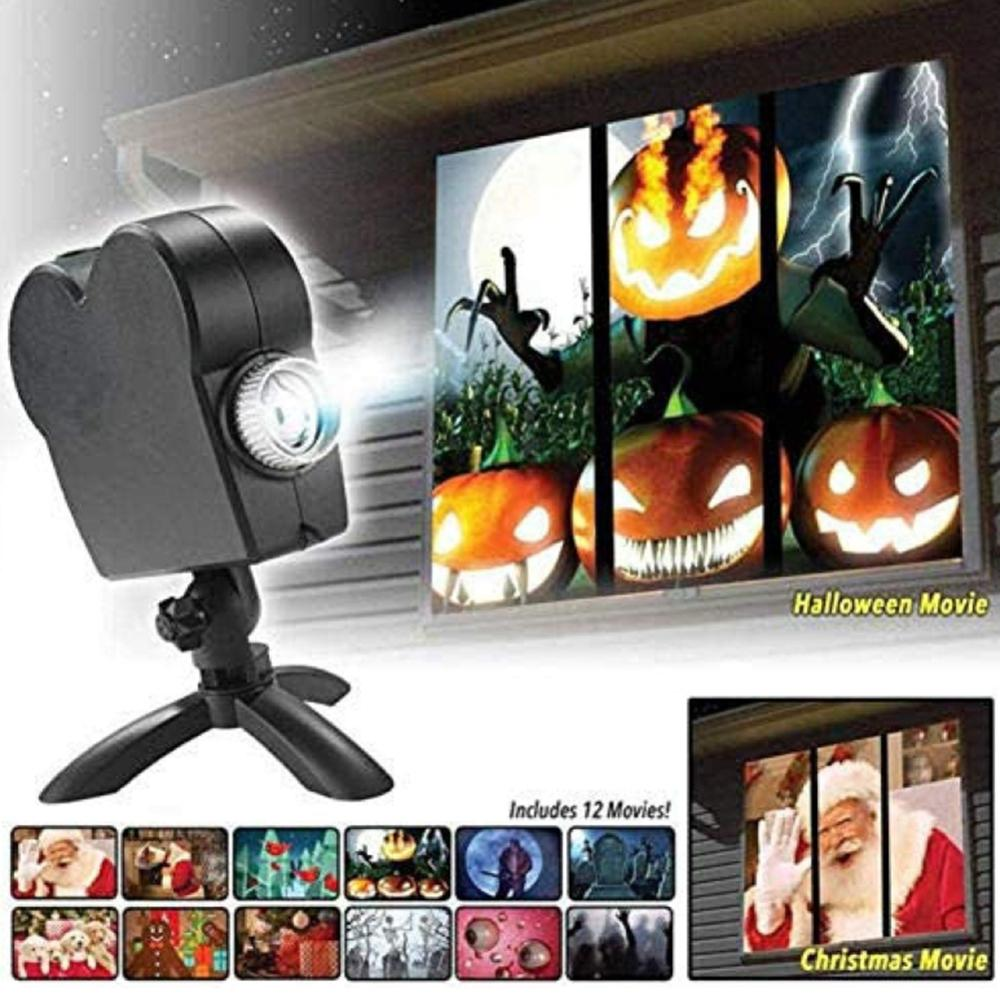 Holiday Movie Projector