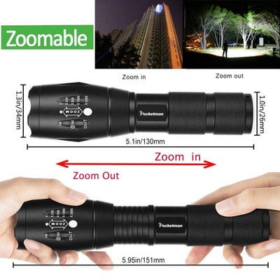 High Power Waterproof Flashlight 2.0