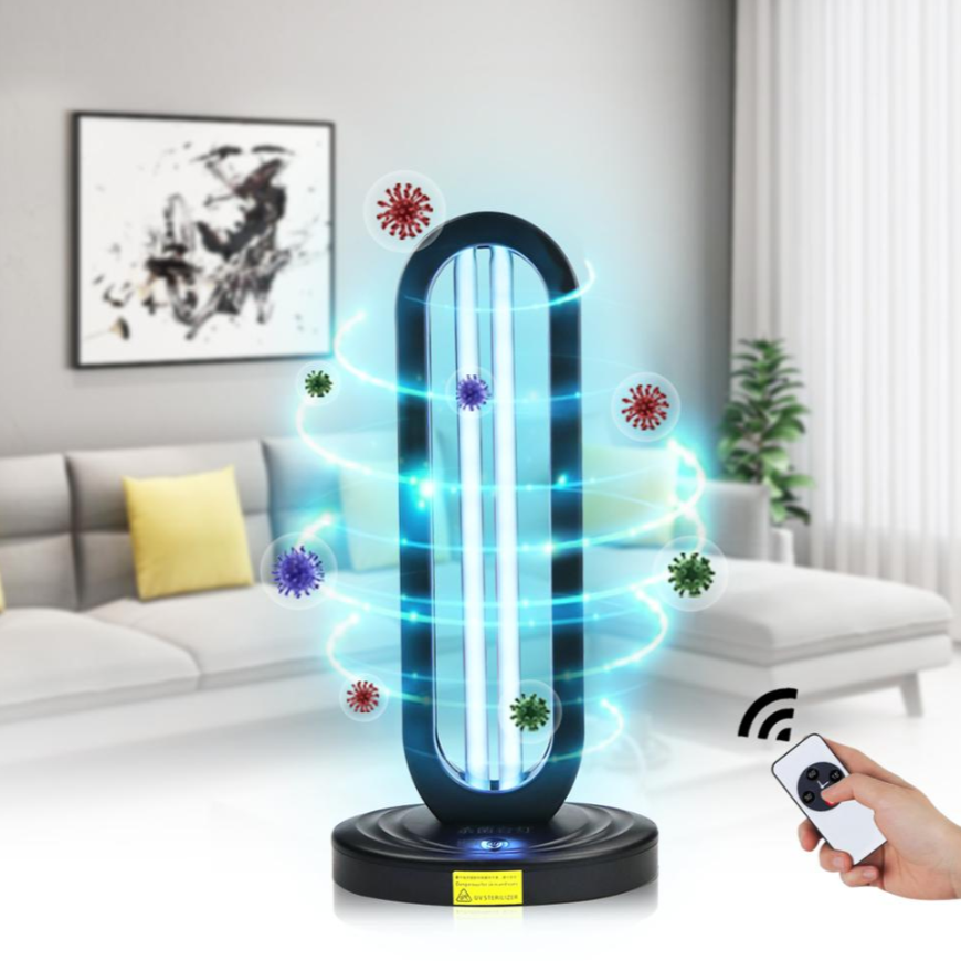 38W UV Sterilizer Light - Kill 99.9% of germs and allergens in any room! REMOTE CONTROL