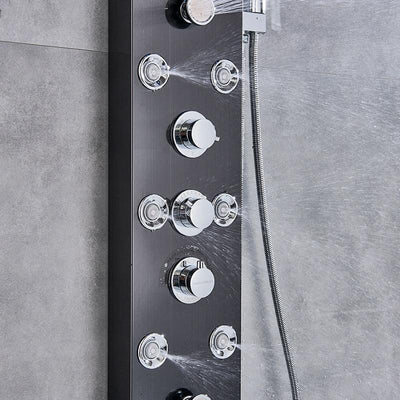 Spa Rainfall Shower Head with Jets