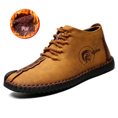 ProFiveShop Men's Leather Waterproof Boots