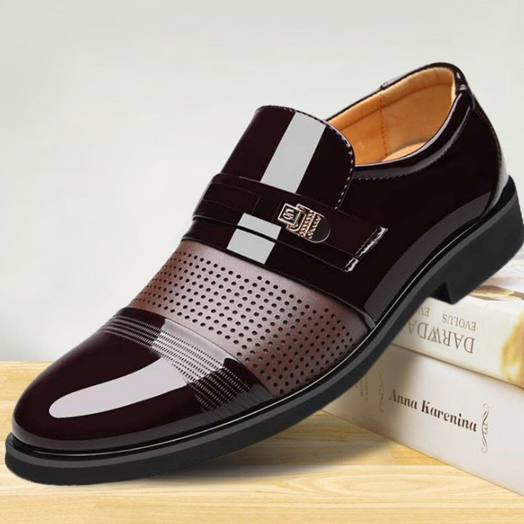 Leather Oxford Dress Shoes