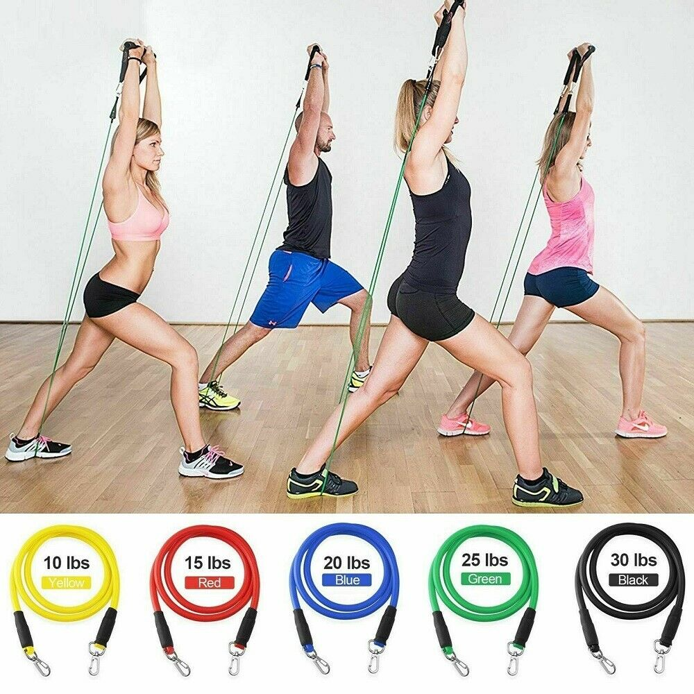 FITCURE At Home Resistance Bands- 10-100lbs (50% off today only!)