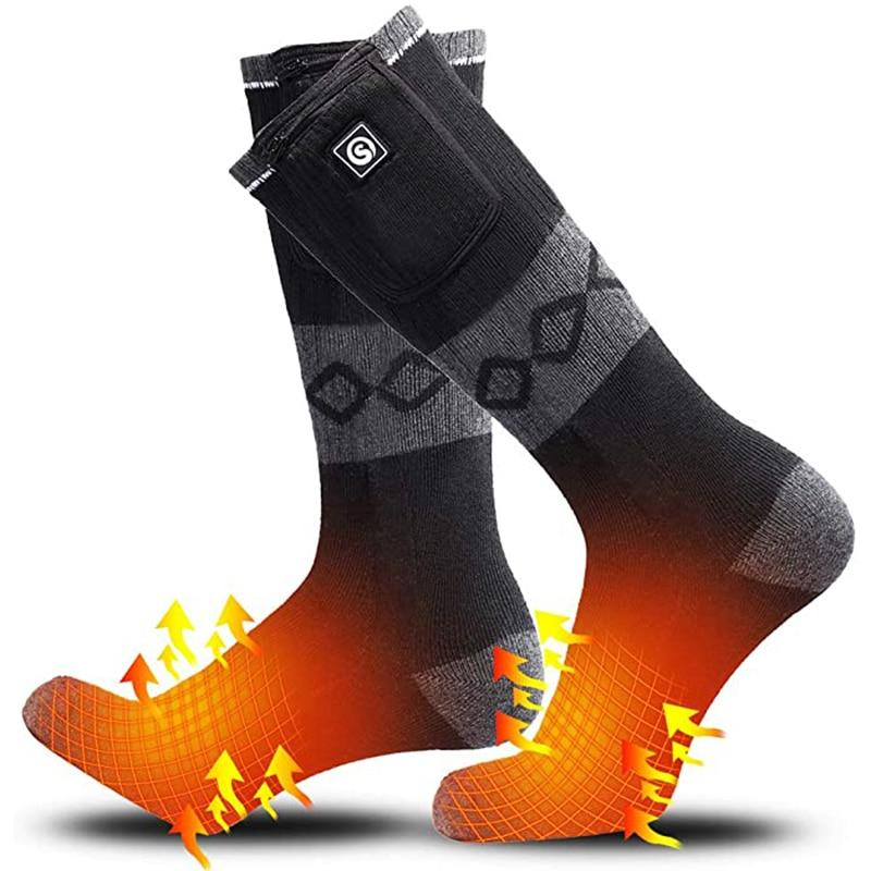 2 Pairs of  Heated Socks