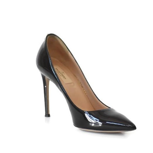 Patent Leather Stiletto Pumps