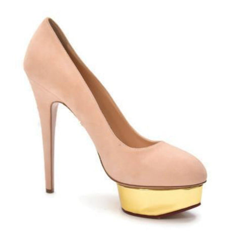 Dolly Nude Pumps
