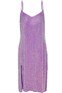 Lavender Sequined Dress