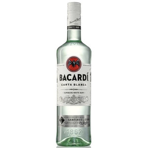 Ron  Bacardi Carta Blanca 980ml