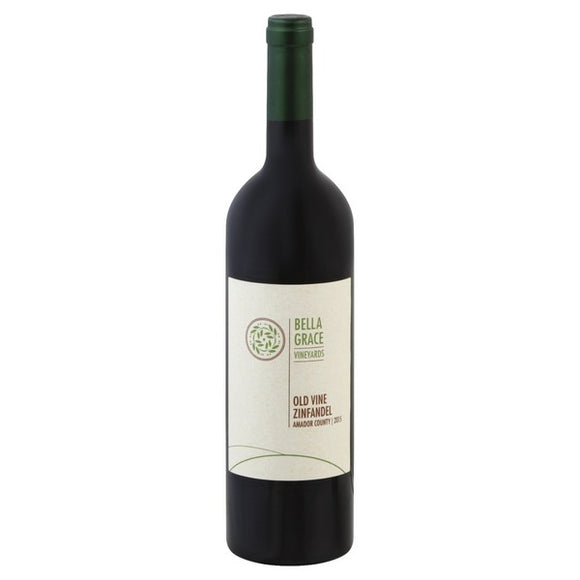 Vino Tinto Bella Grace Old Vine Zinfandel 750ml