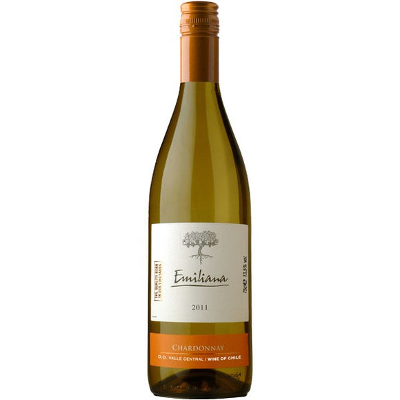 Vino Blanco Emiliana Chardonnay 750ml