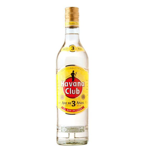 Ron  Havana Club Añejo 3 Años 750ml