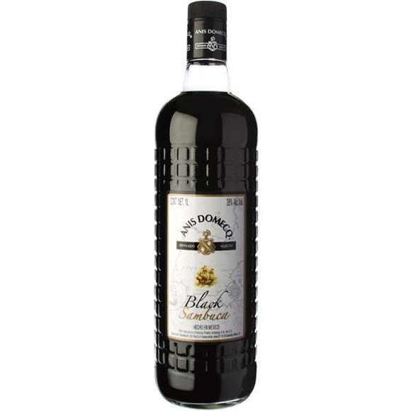 Licor Anis Domecq Black Sambuca 1000ml