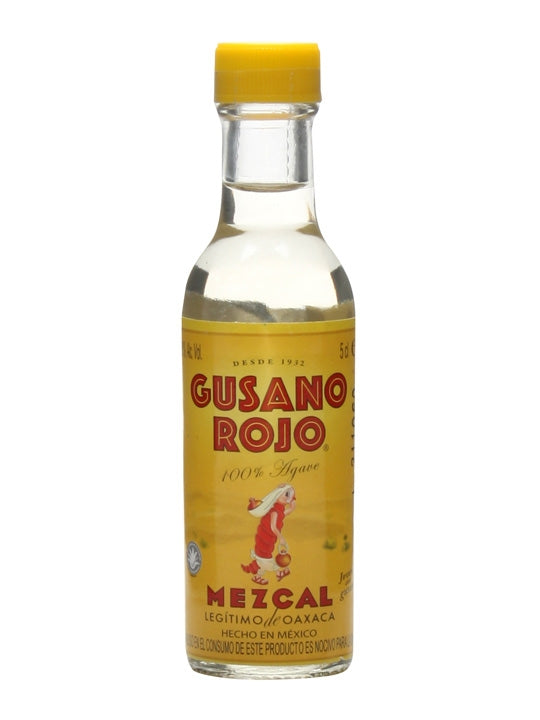 Mezcal Mini  Gusano Rojo 50ml