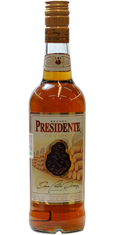 Brandy  Presidente Clasico 500ml