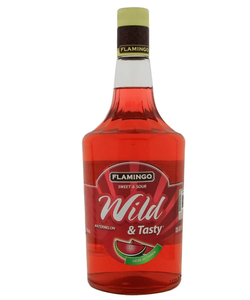 Licor  De Sandia Wild & Tasty Flamingo 1000ml