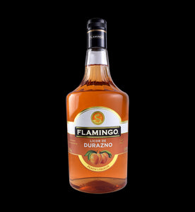 Licor  De Durazno Flamingo 1000ml