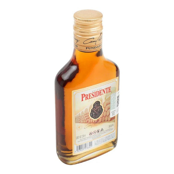 Brandy Mini  Presidente Clasico 200ml