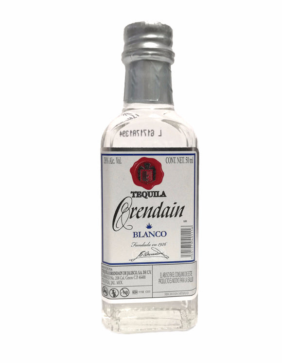 Tequila Mini  Orendain Blanco 50ml