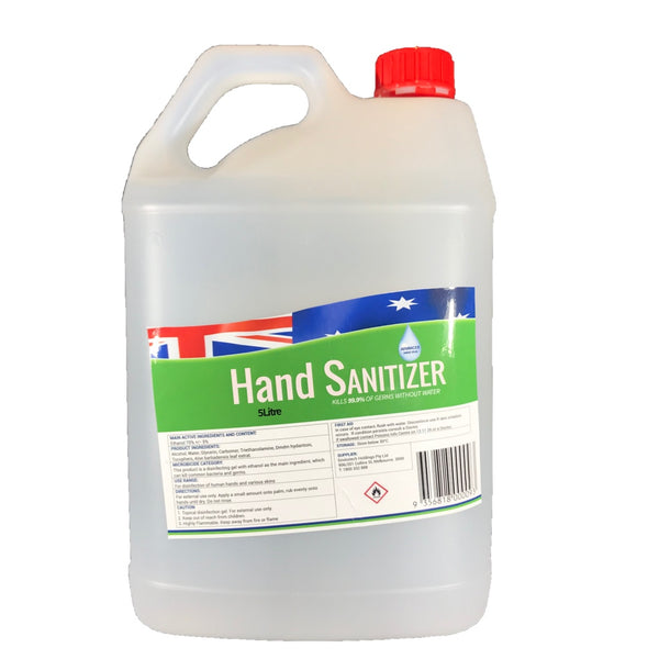Envirotch 5 Litre Hand Sanitizer - Gel or Liquid - $77 incl.gst