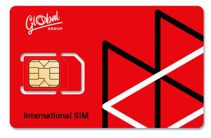 FORFAIT: 1 SIM Global + 30 € Balance - Global Mobile