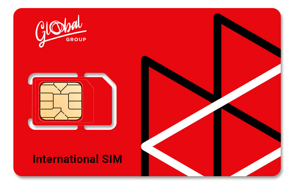 PACKAGE: 1 Global SIM + 30€ Balance - Global Mobile
