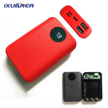 Charger l'image dans la visionneuse de galerie, chargeur de batterie portable 2 ports USB PowerBank 18650 - Global Mobile