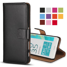 Load image into Gallery viewer, Book Case For Sony Xperia // Leather - Global Mobile