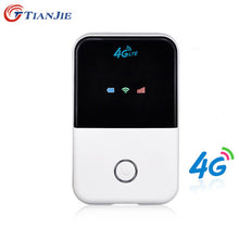Load image into Gallery viewer, TIANJIE 4G Wifi Router mini router 3G 4G Lte Wireless Portable Pocket wi fi Mobile Hotspot Car Wi-fi Router With Sim Card Slot - Global Mobile