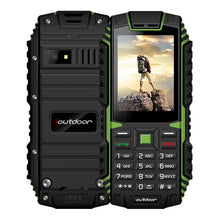 Load image into Gallery viewer, XGODY ioutdoor T1 2G Feature Phone IP68 Shockproof cep telefonu 2.4''128M+32M GSM 2MP Back Camera FM Telefon Celular 2G 2100mAh - Global Mobile