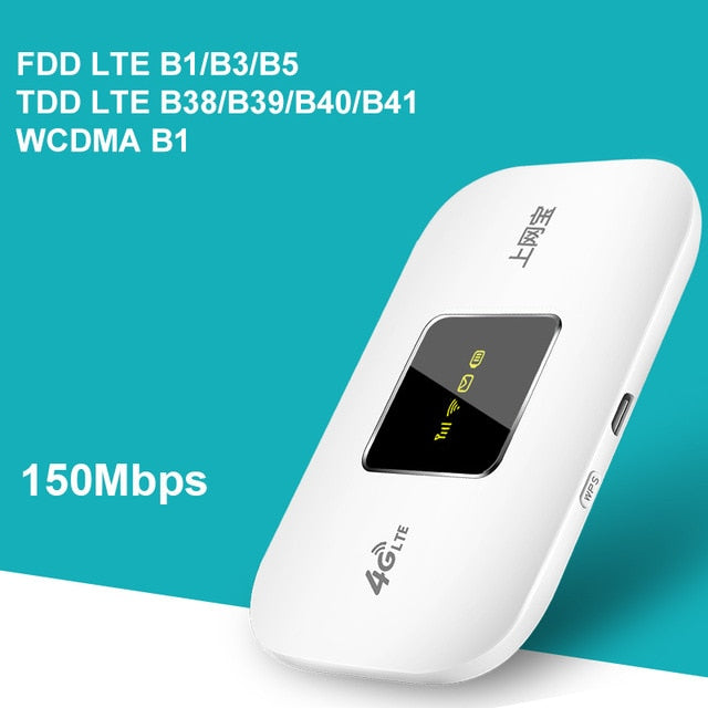 4G Wifi Router mini router Wireless Portable Pocket Hotspot - Global Mobile