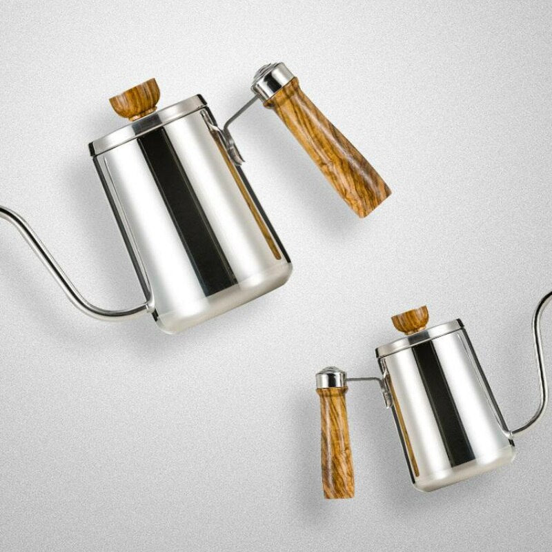 Stainless Steel Gooseneck Kettle Hand Drip Coffee Pot