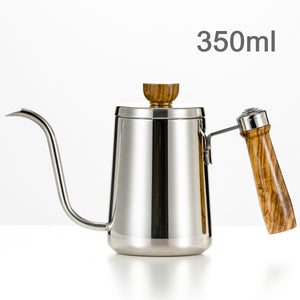 Open image in slideshow, Stainless Steel Gooseneck Kettle Hand Drip Coffee Pot