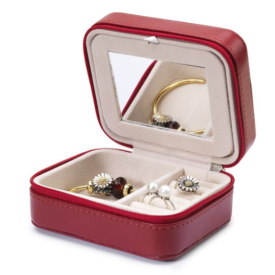 Burgundy Jewellery Box
