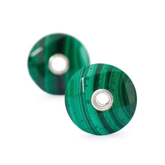 Malachite Earring Beads