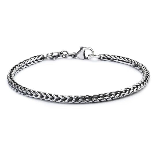 Sterling Silver Bracelet with Basic Lock